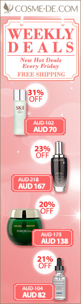 [Up to 38% Off] Weekly Surprise with Free Shipping! SK-II, La Mer and more with Great Prices...