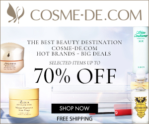 The Best Beauty Destination - COSME-DE.COM. Hot Brands - Big Deals. Selected Items Up To 70% Off. SHOP NOW