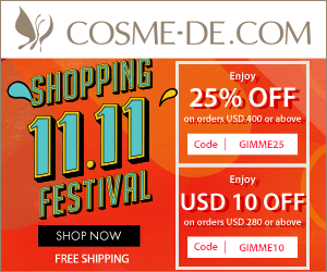 11.11 Shopping Festival. Sitewide offers for just 36 hours. Promotion Period: 2018.11.10-2018.11.12. Shop NOW
